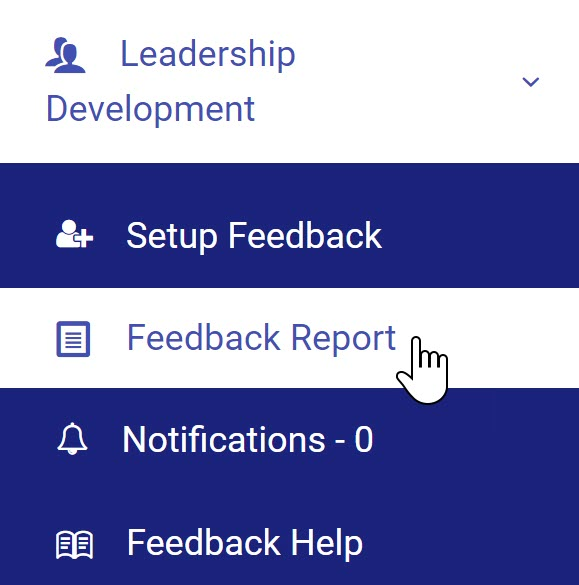 Selecting Feedback Reports