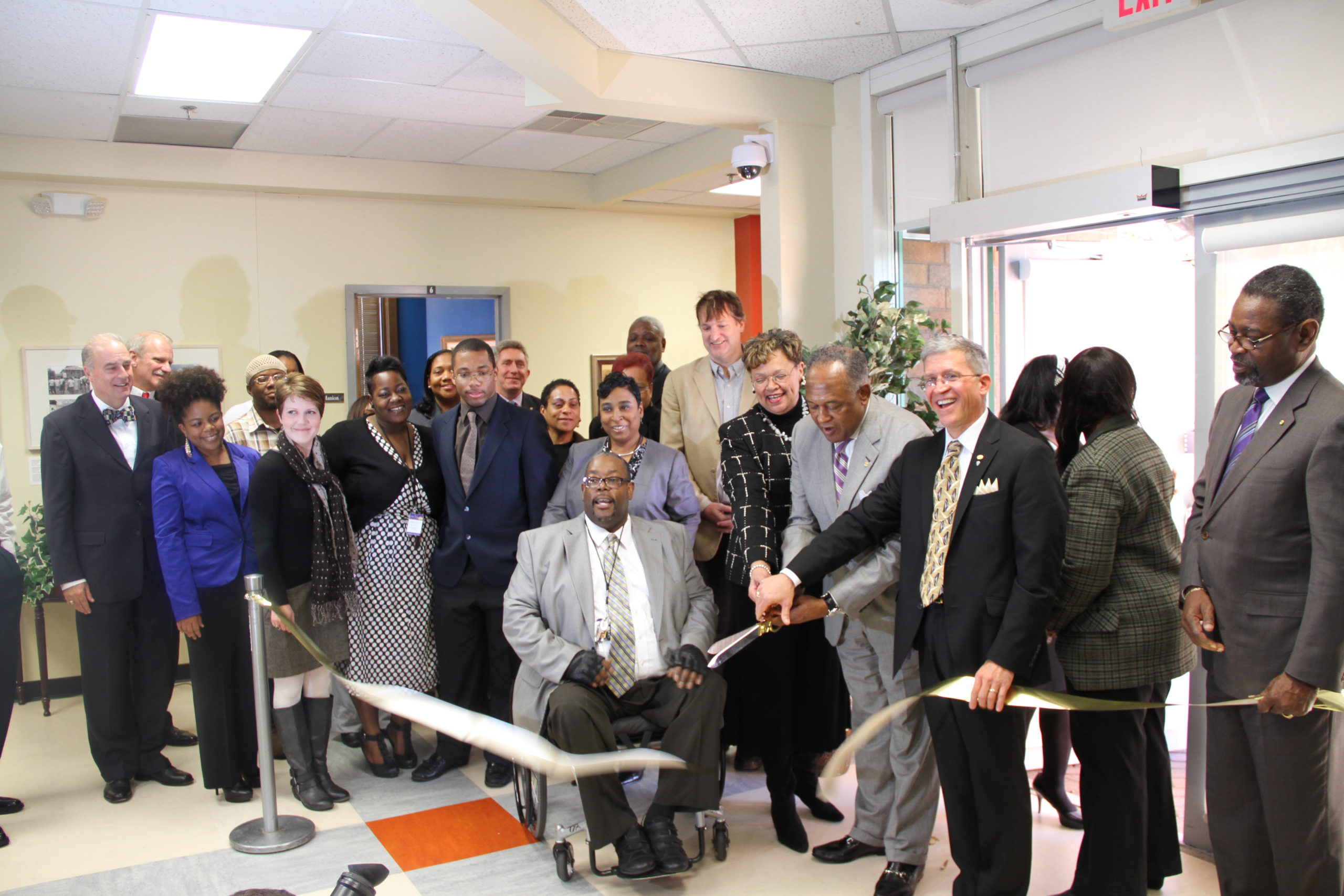 Grand Opening of CWI